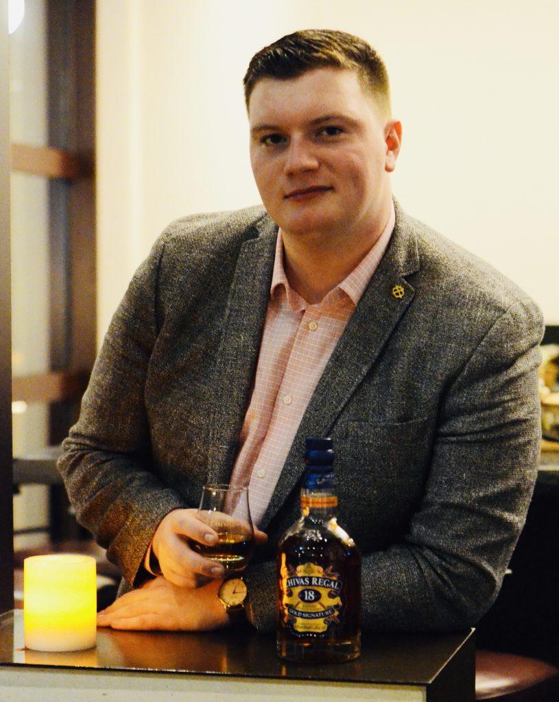Tomos Brooks, Chivas Regal Brand Ambassador