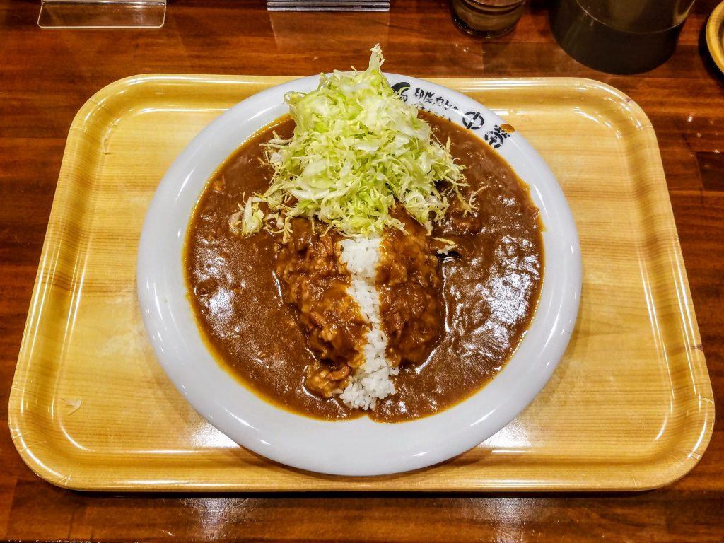 Aigake curry at Nakaei: Japanese Curry Restaurant in Toyosu, Tokyo
