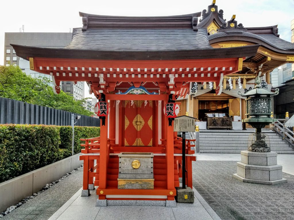 Benzaiten Shrine at Suitengu, Nihonbashi, Tokyo
