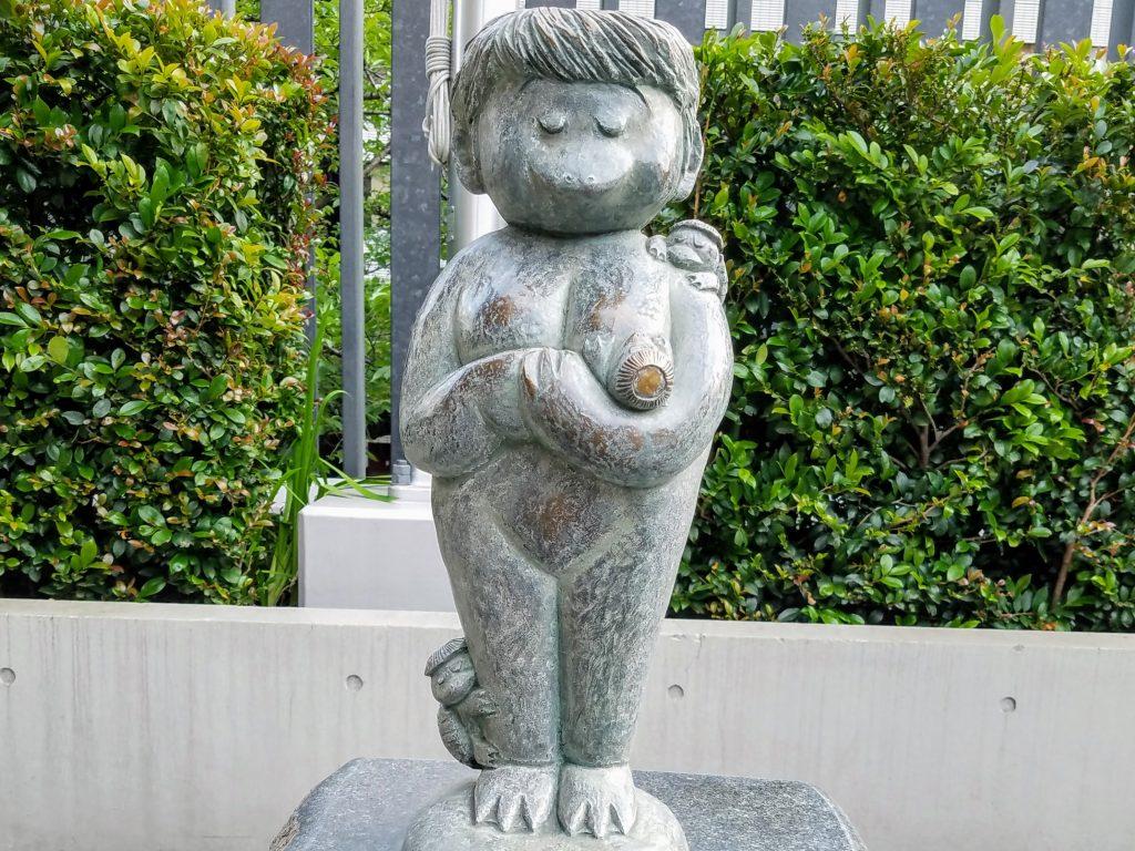 Kappa statue at Suitengu, Nihonbashi, Tokyo