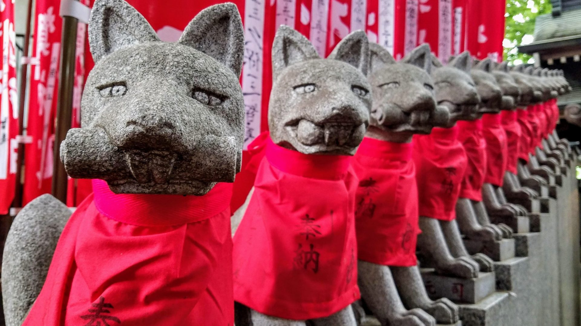 Toyokawa Inari Tokyo Betsuin: A Journey Down the Fox Hole