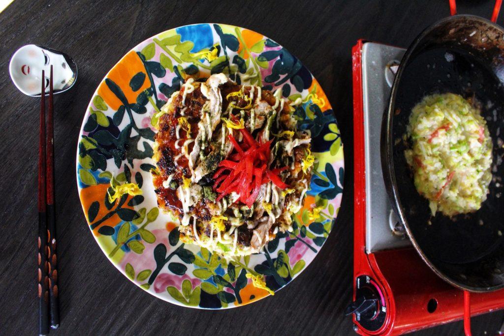 Home-made Okonomiyaki: Japan's savoury pancake